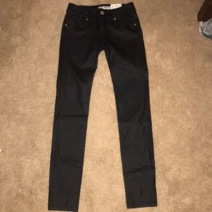 Guess leather jeans